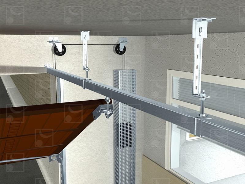 Série 4000 – Porte basculante habitat - Image 2