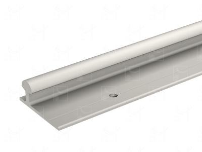 Lower aluminium track - 2 m