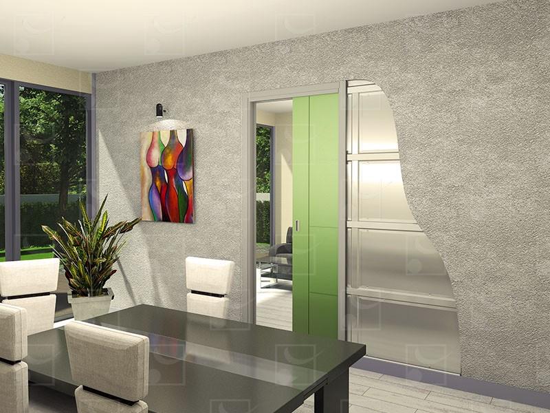 SAF-INSIDE Set for single leaf wooden door