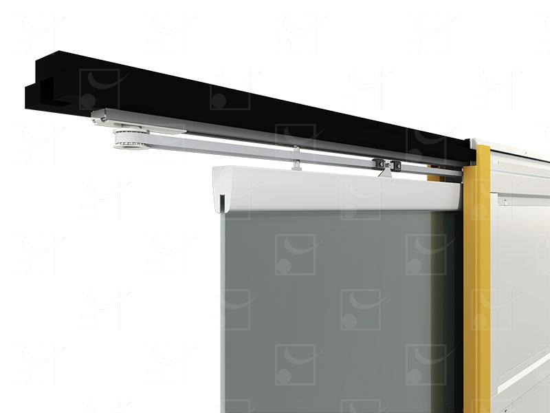 SAF-INSIDE Motorized set for single leaf glass door - Image 2