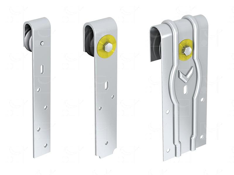 Portes à déplacement droit sur fer plat - Image 2