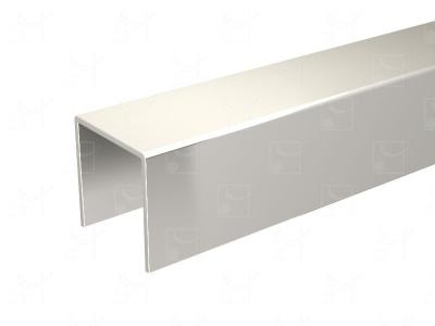 Stainless steel (316L) U-profile - L : 1.95 m