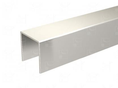 Stainless steel (316L) U-profile – L : 1.95 m