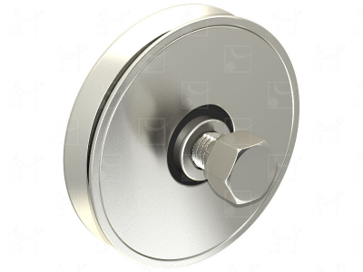 """""""V"""" shape groove wheel"""