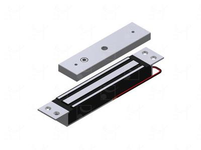 Flush-mounted electromagnetic lock - 180Kg