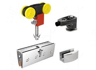 Gear for 1 door 10 mm