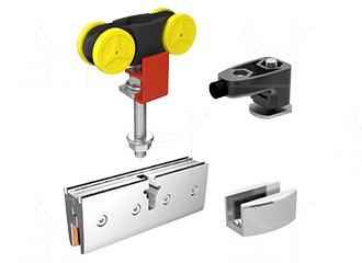 Gear for 1 door 12 mm