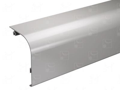 Bandeau aluminium brut - 6 m