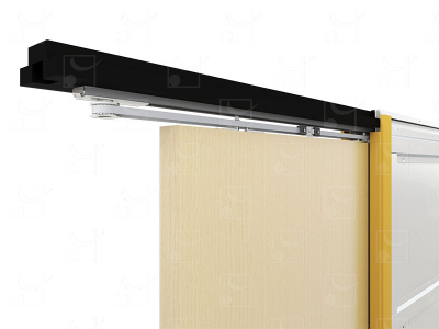 Wired or radio-controlled motorisation for single 930x2040mm timber door (without a switch)