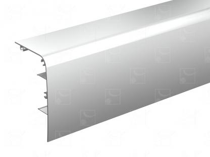 Bandeau aluminium brut – 2 m