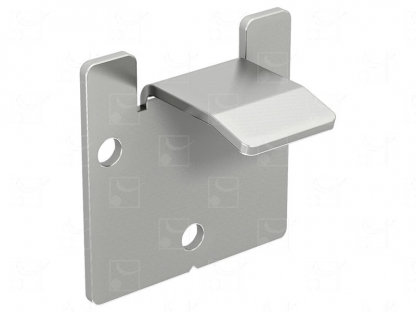 Wall bracket for removable tracks