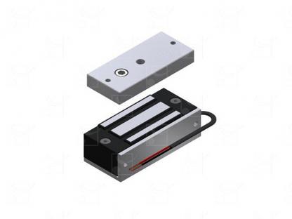 Surface-mounted electromagnetic lock – 60 Kg
