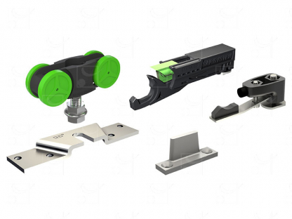 Gear for doors up to 40 Kg