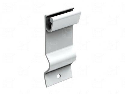 Set of 4 aluminium clips