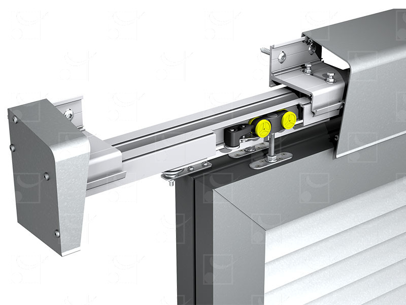 System for sliding shutters WIN-SLIDE-R: simple track or double track - Image 2