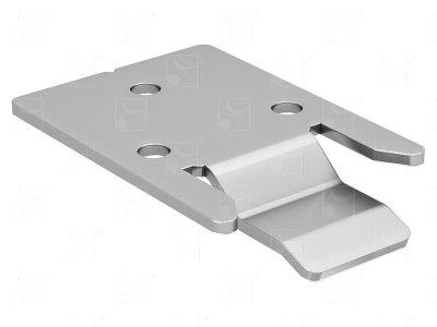 Ceiling bracket for removable tracks