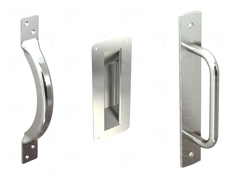 Poignées pour portes, baies coulissantes et portails - Image 1