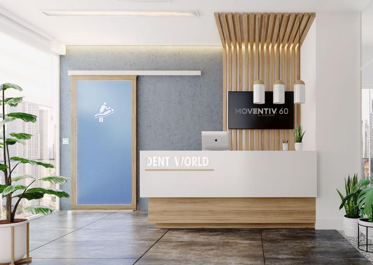MOVENTIV®60, une nouveauté connectée pour portes coulissantes intérieures