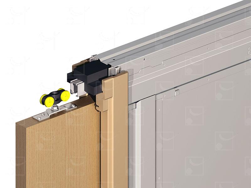 SAF-INSIDE Set for double leaves wooden door - Image 2
