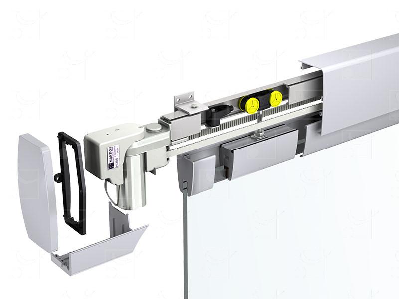 Motorisation pour baies et portes coulissantes suspendues SAFGLASS POWER - Image 2