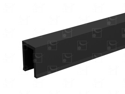 Profil U guidage PVC SAF - 1,10 m