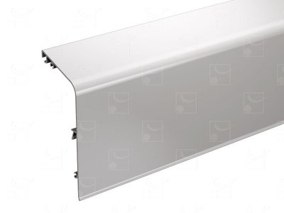 Bandeau aluminium brut - 4 m
