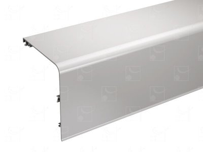 Bandeau aluminium brut - 5 m