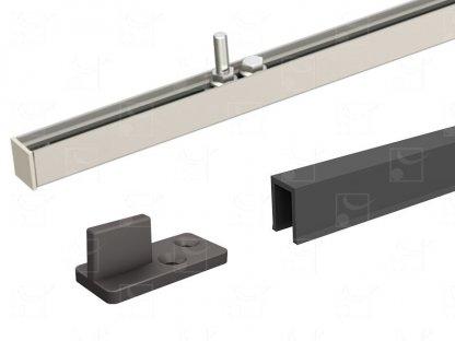 Fitting kit flush-mounted in timber panels