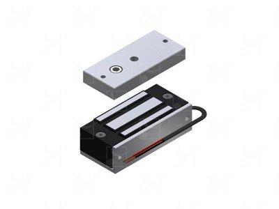 Surface-mounted electromagnetic lock - 60 Kg