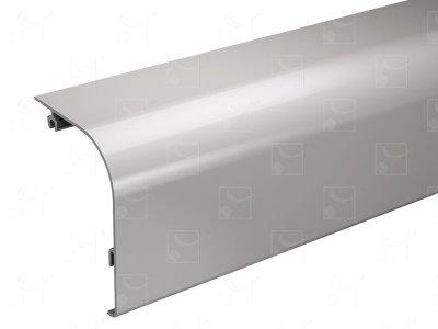 Bandeau aluminium brut - 3 m