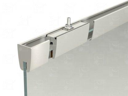 Fitting kit for 10 mm glass panels