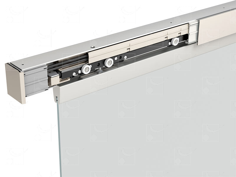 Moventiv 60 for glass doors weighing 20 – 60 kg - Image 2