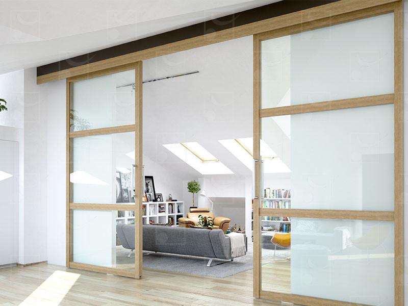 STARAL (gamme aluminium) : pour portes de 120 Kg - Image 1