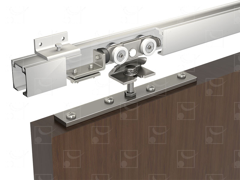 STARAL (gamme aluminium) : pour portes de 120 Kg - Image 3