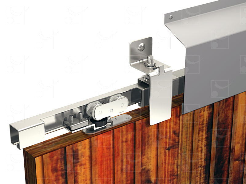 System for sliding shutters WIN-STS Steel track – 150 kg