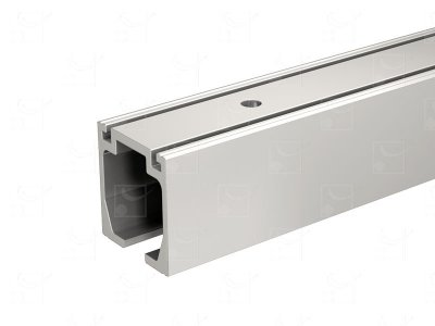 Rail aluminium anodisé - 6 m