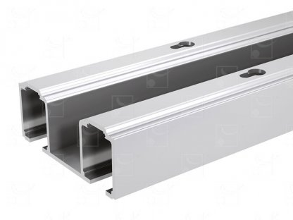 Rail double aluminium – 2,997 m