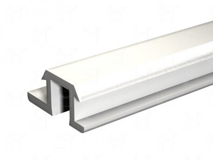 Rail PVC blanc – 2 m