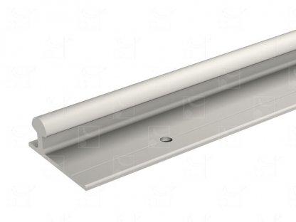 Rail bas aluminium – 2 m
