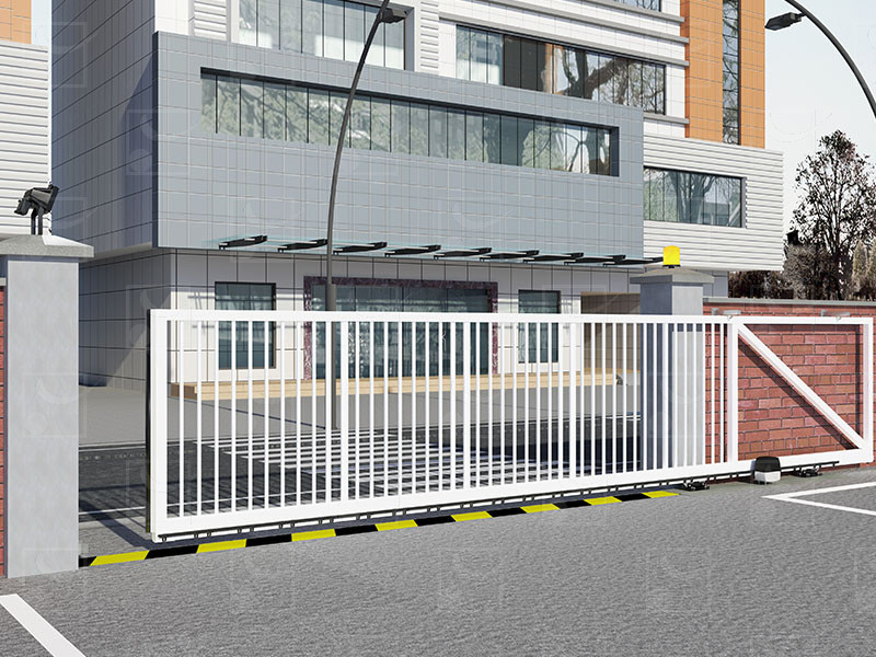 Steel cantilever gate – PAF version