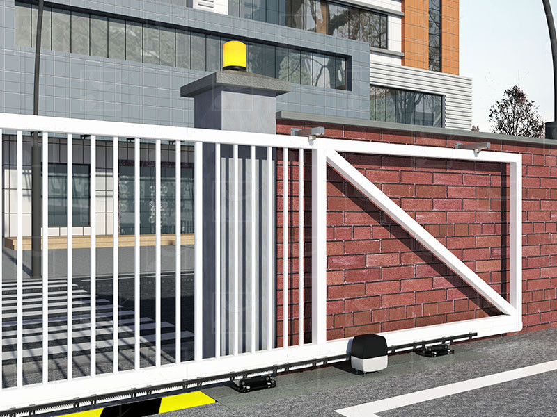 Steel cantilever gate – S version - Image 3