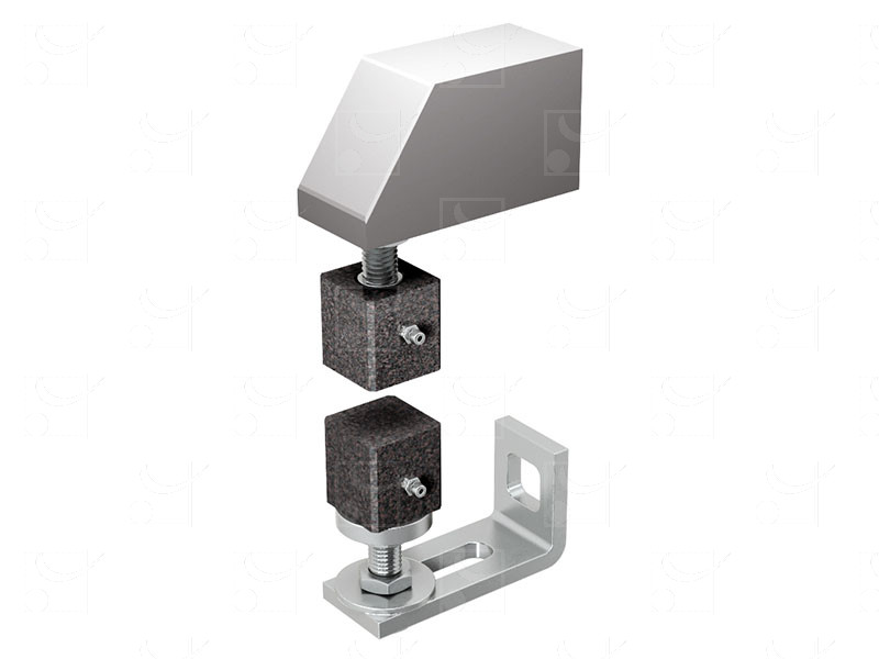 Portails sur pivots et gonds – Pivots avec pattes pour portails jusqu'à 80 kg - Image 1
