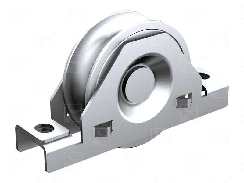 Sliding gates – Inox wheels
