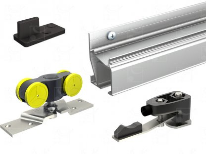 Ready-to-install-kit without pelmet – without door jamb