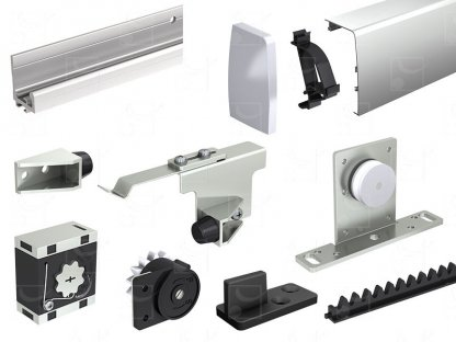 Set for doors 830 to 880 mm wide
