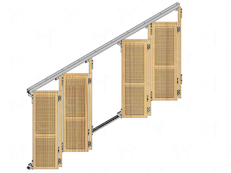 Système pour volets pliants coulissants WIN-FOLD 2 - Image 2