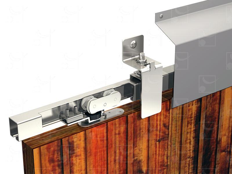 System for sliding shutters WIN-STS Steel track – 150 kg - Image 1